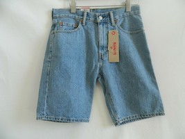 NWT Levis 505 Regular Mens Blue Jean Shorts Size 30 - $29.99