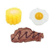 Set of 3 Artificial Lifelike Food Simulation Fake Food Home Shops Decor [A] - $25.84