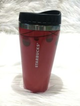 Starbucks coffee thumbler red 16fl oz b40 - $12.19