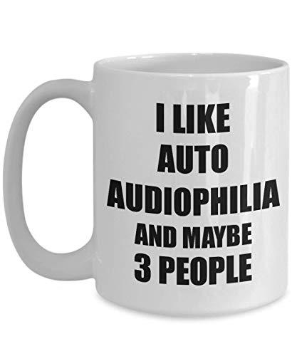 Primary image for Auto Audiophilia Mug Lover I Like Funny Gift Idea for Hobby Addict Novelty Pun C