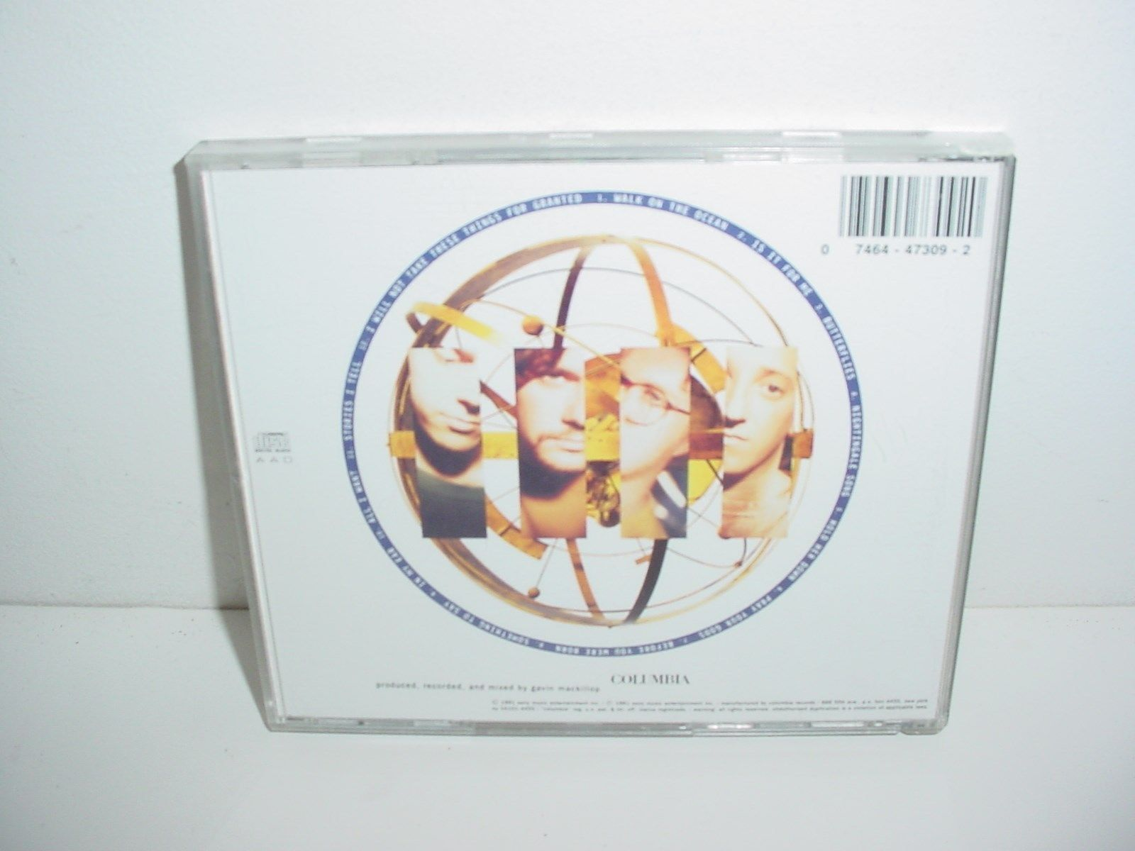 Toad The Wet Sprocket Fear CD Music
