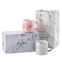 Valentine's Day Gifts - Luspan King and Queen Couples Coffee Mugs set - ... - $35.89