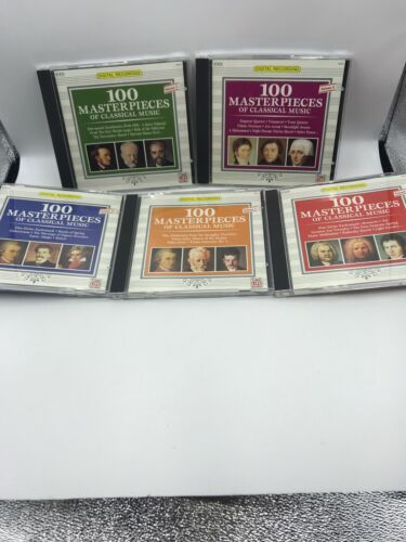 Primary image for Time Life 100 Masterpieces Of Classical Music 5 CD Boxed Set