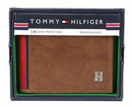 Tommy Hilfiger Men's Leather Credit Card Id Traveler Rfid Wallet 31TL240004 image 10