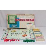 ORIGINAL Vintage 1978 Parker Brothers Monopoly Board Game - $19.79
