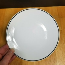 Rosenthal Continental 3455 Salad Plate White Platinum Trim Germany 1950's - $4.21