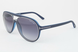 Tom Ford Sergio Blue / Gray Gradient Sunglasses TF379 89W - $185.22