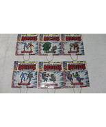 Metal Classic Marvel Battles & Team-Ups Complete Set of 6 ~ Schylling FS - $62.89