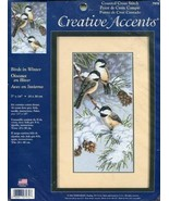 Creative Accents Counted Cross Stitch Kit ~ Birds in Winter - $45.95