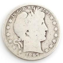 1897-O 50 ¢ Barber Demi Dollar, Ag État, Obverse Est Complet Bon, Comple... - $89.74