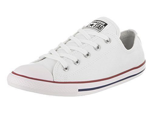 Converse Womens Chuck Taylor All Star Dainty Ox White 537204F