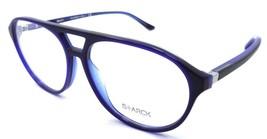 Starck Eyes Mikli Rx Eyeglasses Frames SH3028 0007 57x14 Matte Blue / Black - $134.64