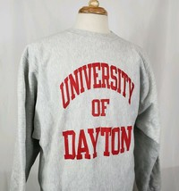 VTG Champion Reverse Weave Sweatshirt Tri Blend University of Dayton XXL... - $45.99