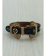 [Used] LOUIS VUITTON / Bangle / Leather / BLK / Monogram  - $270.00