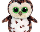 original ty boos 10 25cm sammy the brown owl plush medium big eyed stuffed animal thumb155 crop