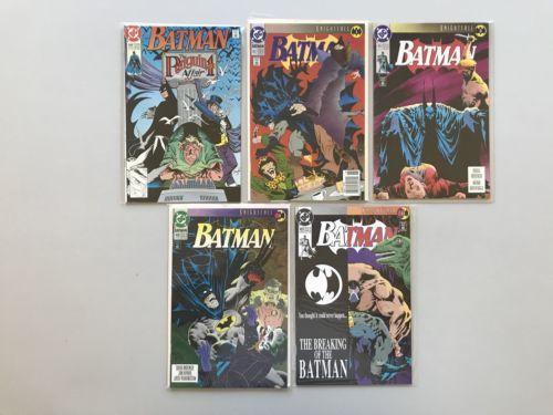 Lot of 11 Batman (1940) #448-544 VF-NM Near Mint