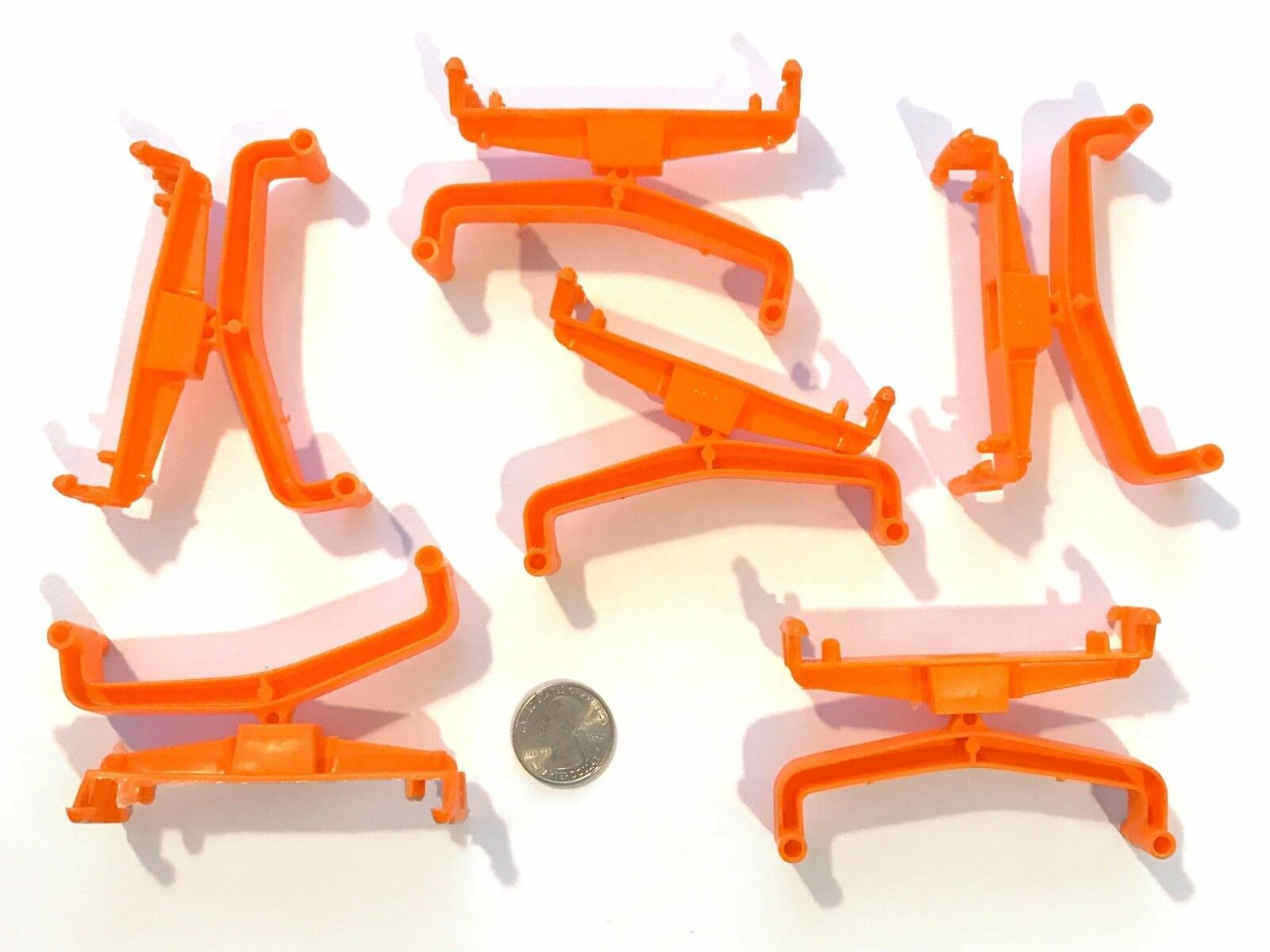 6 Aurora AFX Combination Slot Car Key Chain Great Tool!