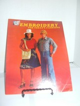 Embroidery For Today's Fashions Creative American Craft Series 1976 Doro... - $1.97