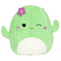 "New Squishmallow Maritza Cactus Plush Flower Green 8"" Kellytoy 2021 New - $24.31"