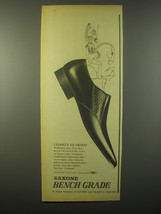 1965 Saxone Cramond Shoes Ad - Closely Guarded - $14.99