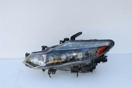 09-10 Nissan Murano HID Xenon Headlight Head Light Lamp Driver LH - POLISHED