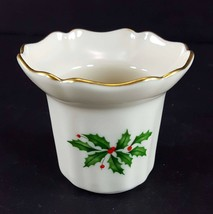 LENOX China Holiday Dimension Votive Candleholder Dinnerware - $10.88