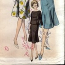 Vintage 1960s Vogue 6194 Two-Piece Dress  - $16.00