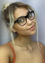 New BURBERRY B 6921 6734 50mm Black Red Round Women's Eyeglasses Frame  - $129.99