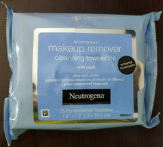 Neutrogena Makeup Remover Facial Towelettes Wipes 25, 50, 75 & 100 Pieces - $7.84+