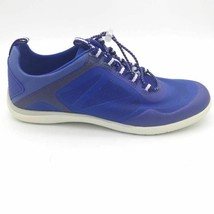 Lands End Womens Water Shoes Blue White Mesh Bungee Lace Up Low Top 9.5 D - $32.66