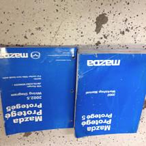 2002 Mazda Protege Service Repair Workshop Shop Manual OEM Factory Set W EWD OEM - $79.15