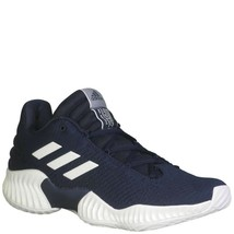 adidas Men's Pro Bounce 2018 Low Basketball Shoes, Navy Blue/White, 10.5... - $69.61