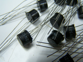 1pc 2N525 vintage GE black top NPN Transistor NOS - $9.89