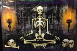 Funny Torture DUNGEON YOGA SKELETON MURAL Horror Garage Door Poster Deco... - $5.91