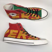 Converse Mens 11 WO 13 Chuck Taylor All Star Hi Wordmark Spellout Shoes ... - $53.74