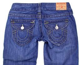 True Religion Women's Premium Denim Jeans Joey Super T 7D-Valley WB82075E4 image 4