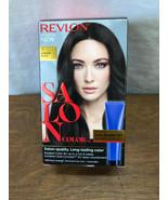 REVLON SALON COLOR - #3 NATURAL BLACK - COLOR BOOSTER KIT - 100% GRAY CO... - $9.05