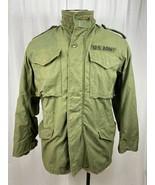 Vintage Vietnam War Era US M-65 Field Jacket Alpha Industries OG-107 Sma... - $74.25