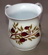 Judaica Hand Wash Cup Netilat Yadayim Natla White Stainless Steel Pomegranates image 4
