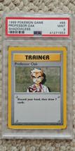 Pokemon Professor Oak 88/102 Shadowless Base Set PSA 9 1999 Pokemon TCG ... - $19.99