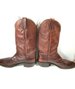 Dan Post #16781 Mens Dark Brown Leather Cowboy Western Boots Size US 12 B - $47.53