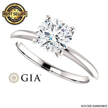 0.90 Carat GIA Certified Diamond Ring in 14K Gold (with GIA certificate) - $3,595.00