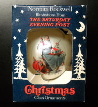Norman Rockwell Christmas Ornament Elves Helping Sleeping Santa Finish P... - $8.99