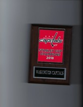 Washington C API Tals Stanley Cup Banner Plaque Champions Champs Hockey Nhl 2018 - $3.95
