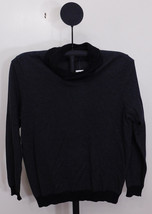Tasso Elba Black Men's Black Combo Shawl Collar Rice Stitch Sweater - Large - $375,56 MXN
