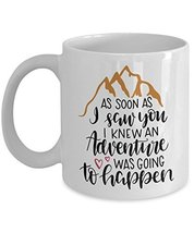 Lover Coffee Mug - Ceramic Cup - For Lovers Couple - Novelty Adventure G... - $14.95+