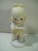 Vintage 1987 Precious Moments He Walks With Me Figurine #107999 Limited Edition - $12.69