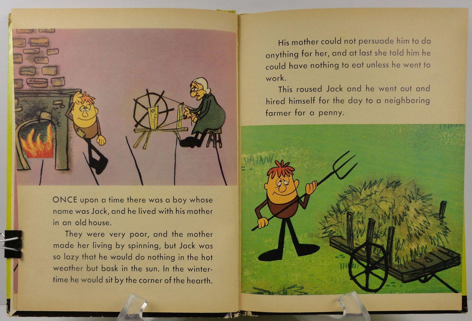 The Storytoon Express Version of Lazy Jack Elf Book