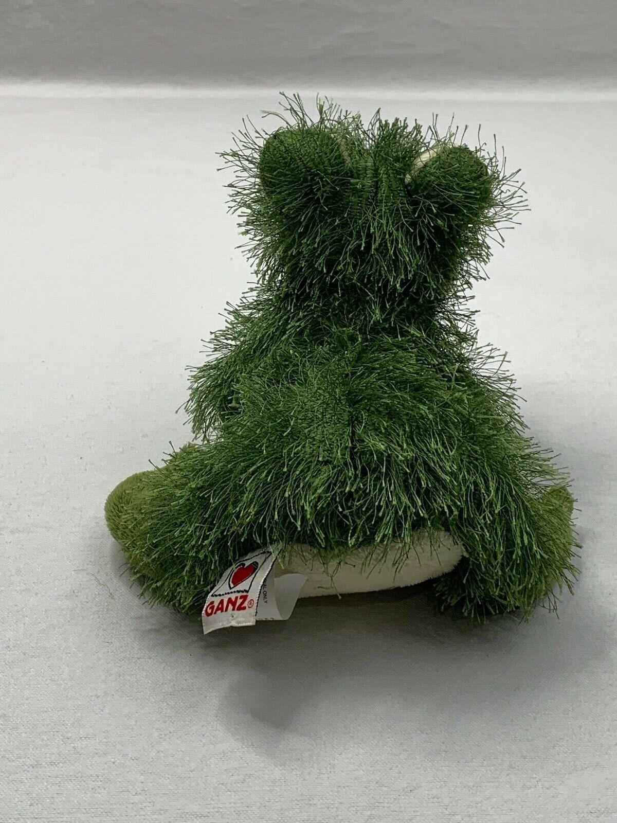 Ganz Webkinz Green Fuzzy Lil' Frog Plush Stuffed Animal No Code