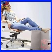 Inflatable Travel Footrest Rest Pillow Leg Foot cusion Portable Pad Kids... - €21,34 EUR